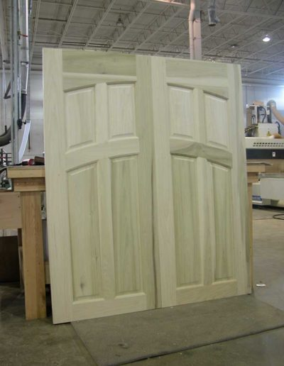 Arched-Panels-and-Rails-Double-Door