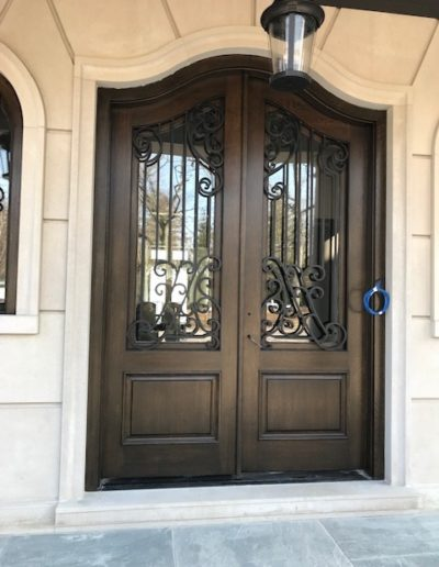 Cathedral-Arch-Double-Door-installed