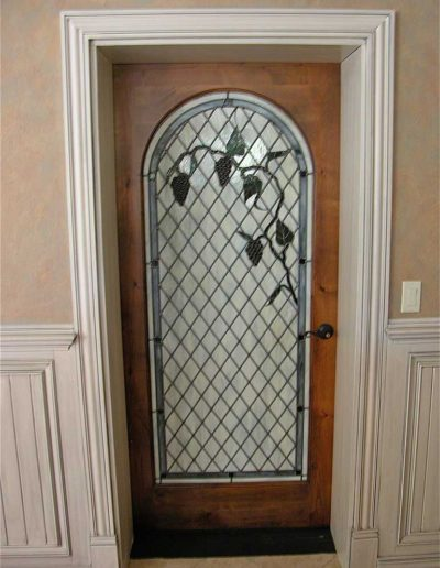 Custom-glass-interior-door