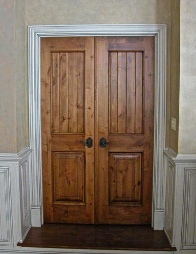 Double-Interior-Doors-V-Groove-with-Raised-Panel