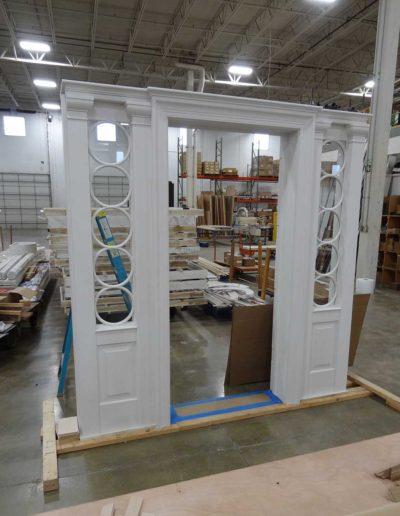 Exterior-Door-with-Sidelites-with-Circular-Grilles