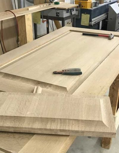 Extra-thick-white-oak-components