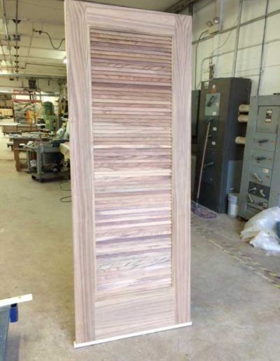 Louvered-Walnut-Door