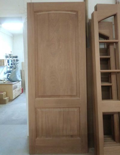 Sapele-2-Panel-Door