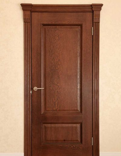 Single-interior-quarterrsawn-red-oak-door