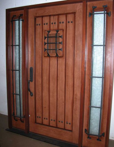 V-Groove-Door-with-Clavos-and-Speakeasy-Accents